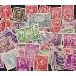 FREE STAMPS, 35 All Mint Collection, With your purchase of $25 or More